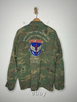 $328 Polo Ralph Lauren X-Large Ripstop Camo Over Shirt Jacket RRL Military Rugby
