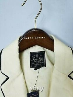 $495 Polo Ralph Lauren Men's Natural Radcliffe LINEN Sport Coat/Blazer SZ40-R
