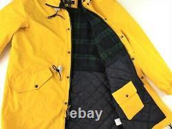 $698 Polo Ralph Lauren Men VTG Stadium Military Marsh Coat Yellow M Polo 1993 92
