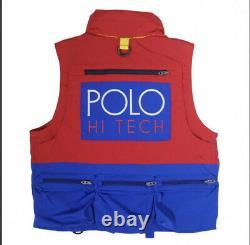BNWT Polo Ralph Lauren Hi Tech Water Repellent Size M Gilet Body Warmer. RRP£299