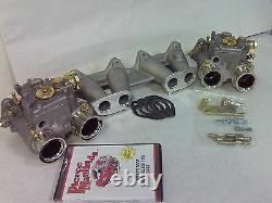 Fiat X19, 128, Strada Weber Dcoe Conversion Genuine Weber 40 Dcoe Carburetors