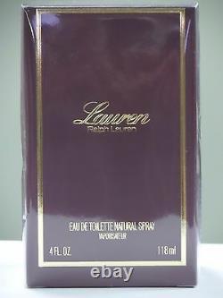 Lauren Perfume by Ralph Lauren, 4 oz EDT Spray for Women NEW
