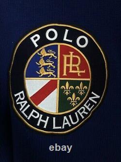 NEW! Polo Ralph Lauren Downhill Skier Ski Stadium 92 93 TurtleNeck Sweater L