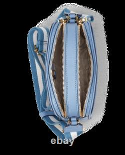 NEW Ralph Lauren Anchor Leather Camera Crossbody Bag