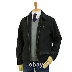 NWT POLO RALPH LAUREN Men's Windbreaker Jacket Black Navy Tan S M L XL 2XL
