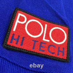 NWT Polo Ralph Lauren Hi Tech Rafting Club Shirt L Climb Alpine Stadium 92 93