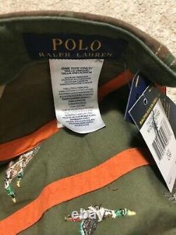 NWT Polo Ralph Lauren Respect Wildlife cap 1992 stadium snow beach pwing ski