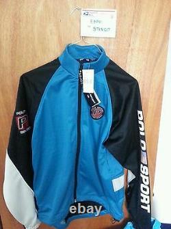 NWT vtg Polo Sport Ralph Lauren Pepsi cycling jacket pwing snow beach 92 stadium
