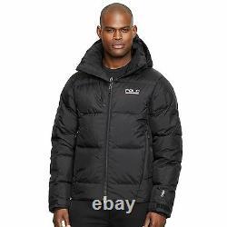 New Men Ralph Lauren Polo Sport Sideline 650 Down Winter Black Jacket