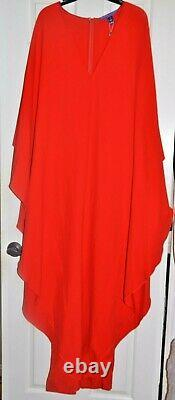 New NWT Ralph Lauren Collection Purple Label Long Maxi Dress Runway Gown US 10