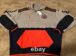 New Polo Ralph Lauren Country Terrain Pullover Fleece Sweatshirt Men's Size M
