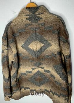 New Polo Ralph Lauren Jacket VTG Hunting Chore Country Indian RRL Aztec Navajo