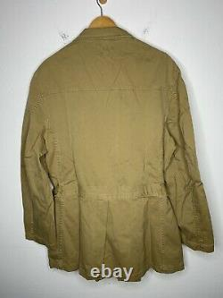 New RRL Ralph Lauren Large Hunting Jacket Polo Deadstock Military Safari Trench