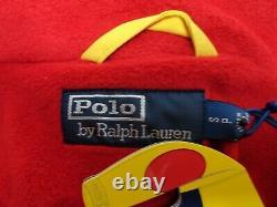 POLO RALPH LAUREN SNOW BEACH PULLOVER JACKET YELLOW size S