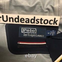 Polo Ralph Lauren 1992 Stadium Collection P-Wing White Fishtail Jacket Sz Medium