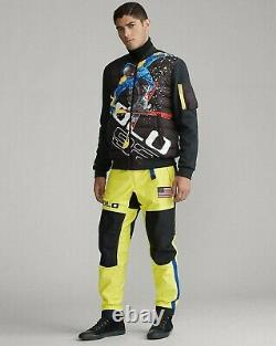 Polo Ralph Lauren Alpine Downhill Ski 92 Suicide Hybrid 750 Down Jacket Hi Tech