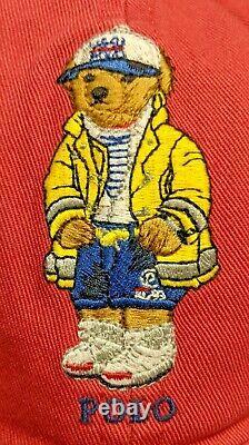 Polo Ralph Lauren Baseball Cap Sailor Bear