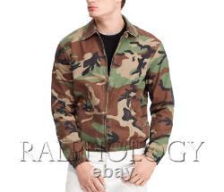 Polo Ralph Lauren Bayport Pony Logo Surplus Camo Camouflage Windbreaker Jacket