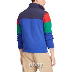 Polo Ralph Lauren Colorblocked Hi Tech USA Flag Climber Jacket Vest Sportsman