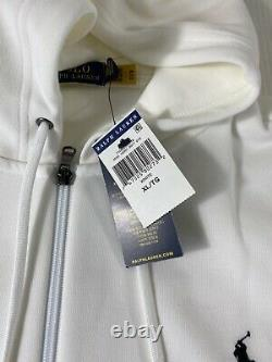 Polo Ralph Lauren Double Knit Tracksuit Hoodie Jogger White New WithTags Mens XL