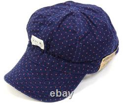 Polo Ralph Lauren Double Rl Rrl Indigo Red-dot Engineer Railman Cap Hat