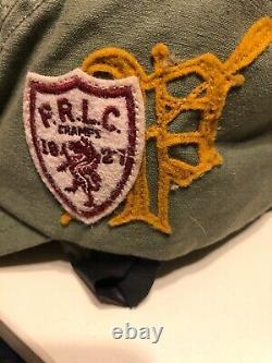 Polo Ralph Lauren Fly Fishing Long Bill Stadium Hat Retro Snow Beach P Wing Vtg