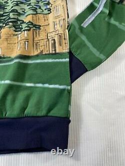 Polo Ralph Lauren Football Rugby Kicker Bear Hoodie Sweatshirt Sweater Mens S