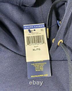 Polo Ralph Lauren Gold Big Pony Double Knit Tracksuit Navy New WithTags Mens XL