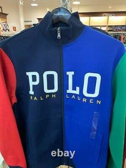 Polo Ralph Lauren Men's Colorblock Track Jacket
