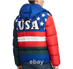 Polo Ralph Lauren Mens Quilted Down Puffer CP93 Ski Downhill Skier Jacket Coat
