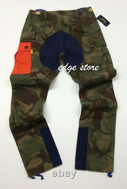 Polo Ralph Lauren Military USA Army Camo Expedition Cargo Pants Hi Tech Climbing