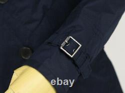 Polo Ralph Lauren Nylon Naval P-coat Type Jacket Coat Navy