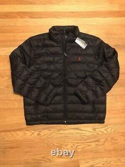 Polo Ralph Lauren Puffer Jacket Black Size M
