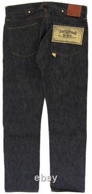 Polo Ralph Lauren Rrl Raw Rigid Slim Fit Japanese Selvedge Buckleback Jeans $420