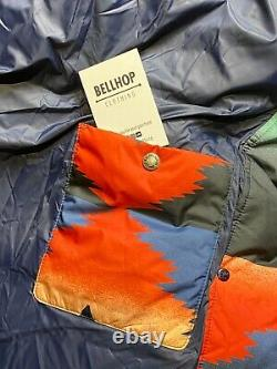 Polo Ralph Lauren Southwestern Navajo Aztec Shearling Down Coat Jacket Large L