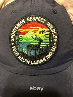 Polo Ralph Lauren Sportsman Respect Wildlife Baseball Hat Cap Pwing Stadium