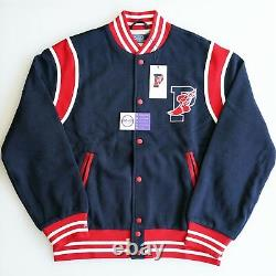 Polo Ralph Lauren Stadium 1992 Varsity Fleece Track Jacket P Wing Snow Beach