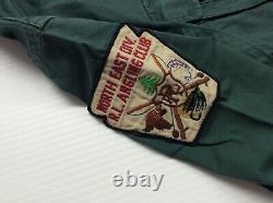Polo Ralph Lauren Vtg Retro Fishing Rod Reel Hunting Shooting Shirt Sportsman S