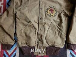 RRL Double RL Ralph Lauren Reversible Murray Varsity Bomber Camo Jacket