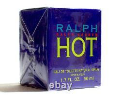 Ralph Hot Ralph Lauren Eau de Toilette Spray 1.7 oz/ 50 ml. New & Sealed. Rare