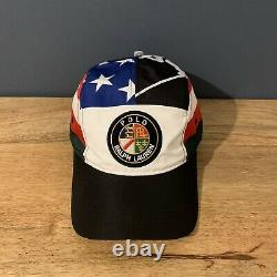 Ralph Lauren Cookie Polo Sport Suicide 92 Ski 5 Panel Cap Ltd Edition Rare Hat
