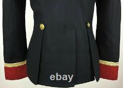 Ralph Lauren Denim Supply Military US Army Wool Officer Band Commander Jacket
