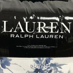 Ralph Lauren Flora 94 X 96 Full/ Queen Comforter Set with 2 20 x 26 Shams New