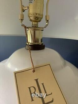 Ralph Lauren Mandarin Cream Crackled Ginger Jar Table Lamp Home Office Desk Lamp