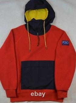 Ralph Lauren Polo CP-93 Stadium HI Tech Fleece Jacket Hoodie Pullover XXL NWT