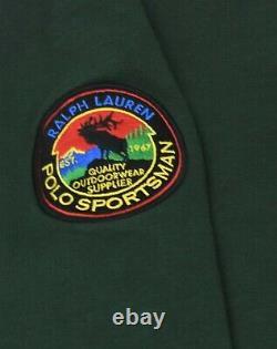 Ralph Lauren Polo Country Sportsman Hoodie Fleece Hooded Sweatshirt S NWT