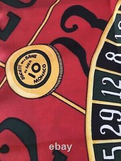 Silk Scarf Custom POLO Ralph Lauren OG Casino NWT Red Limited Edition LO 1993