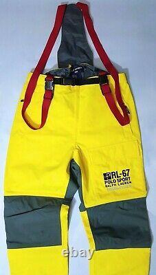 Vintage Ralph Lauren Polo Sport Marine System Color-block / Snow-beach/ski Pant