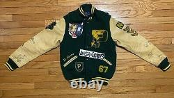 XS Polo Ralph Lauren Stadium P-Wing Varsity Bomber NY Tigers Letterman Jacket