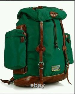 Yosemite Ralph Lauren backpack Green RARE NWT